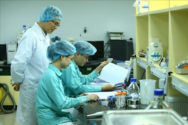 新冠肺炎疫情:越南第二个新冠疫苗进入临床试验 比预期提前2个月 hinh anh 1
