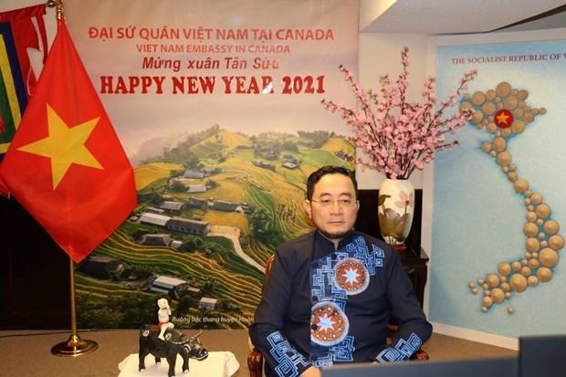 加拿大官员高度评价越加两国关系和越裔加拿大人的贡献 hinh anh 1
