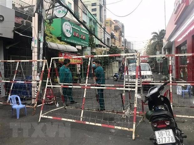 从2月9日12起胡志明市关闭提供非必要服务工作场所 hinh anh 1