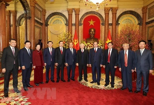 越共中央总书记、国家主席阮富仲:将机遇转化为现实,加快建设繁荣、幸福国家 hinh anh 2