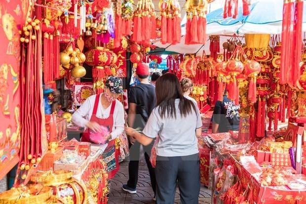 新冠肺炎疫情:泰国警告疫情在春节期间传播的危机 hinh anh 1