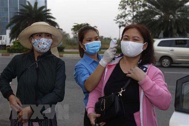 新冠肺炎疫情:近4.5万名外地工人在同奈省过年 hinh anh 1