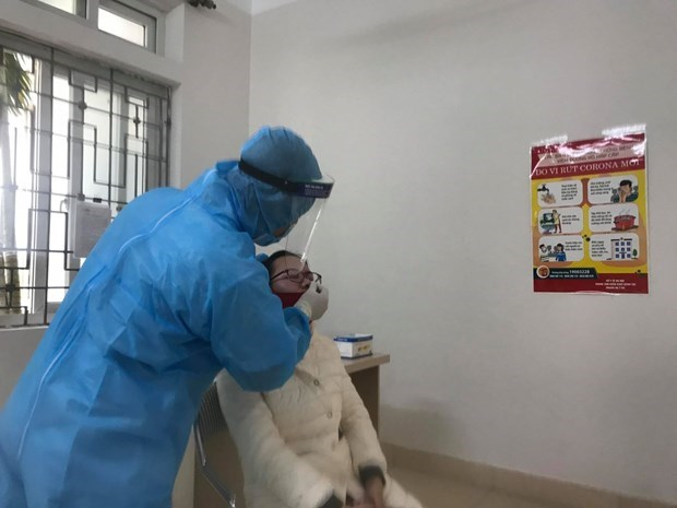 10日上午越南新增1例本地新冠肺炎确诊病例 hinh anh 1