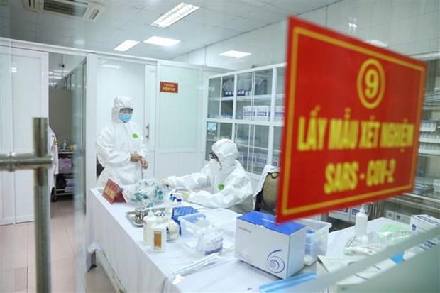 越南无新增新冠肺炎确诊病例 第一至第三次检测结果呈阴性反应的有182例 hinh anh 1