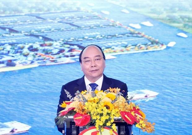 政府总理阮春福:隆安省需注重促进可持续发展与保护环境并行 hinh anh 1