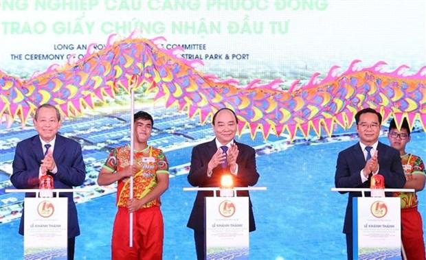 政府总理阮春福:隆安省需注重促进可持续发展与保护环境并行 hinh anh 2