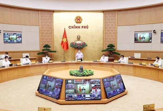 范明政总理:坚决抗击疫情 保护好人民群众的身体健康和生命安全 hinh anh 2