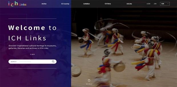 亚太地区非物质文化遗产信息分享平台正式上线运行 hinh anh 1