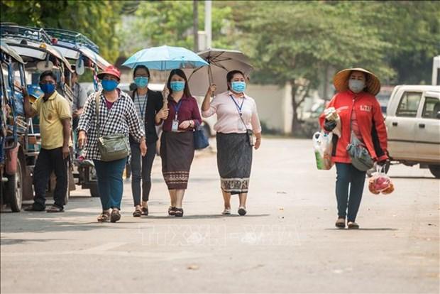 超过11万名老挝劳动者因新冠肺炎疫情失业 hinh anh 1