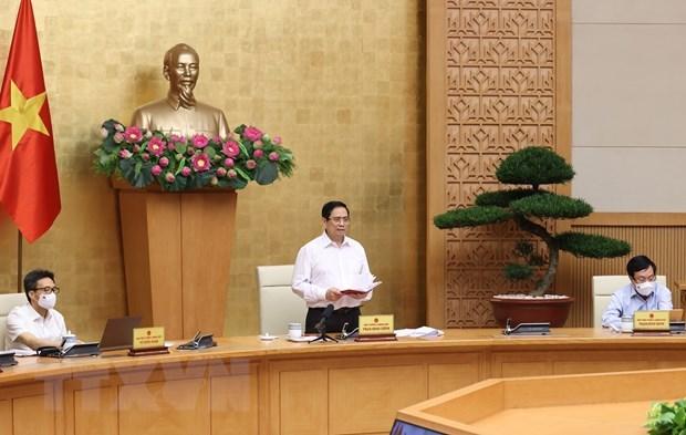 范明政与南部地区8个省市召开会议 重点讨论疫情防控工作 hinh anh 1