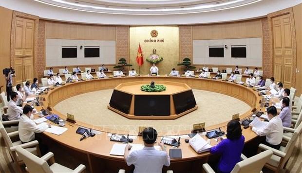政府建议保持18个部门和4个正部级机构组织架构 hinh anh 1