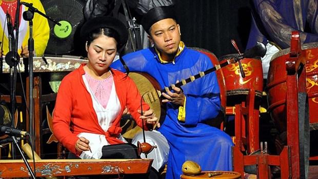 建立符合新时期的民族乐团 让越南民族音乐之花永绽光华 hinh anh 1