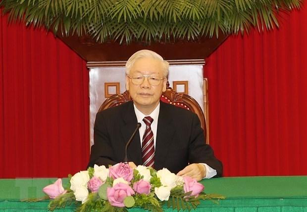 印度学者高度评价越共中央书记处书记阮富仲的文章对越南发展新阶段的意义 hinh anh 1