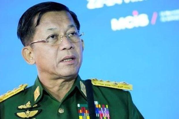 缅甸成立临时政府 hinh anh 1