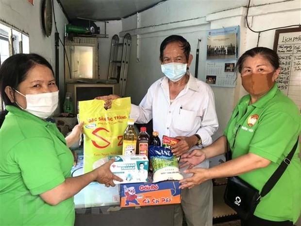 胡志明市受疫情影响的36.5万人得到援助 hinh anh 1