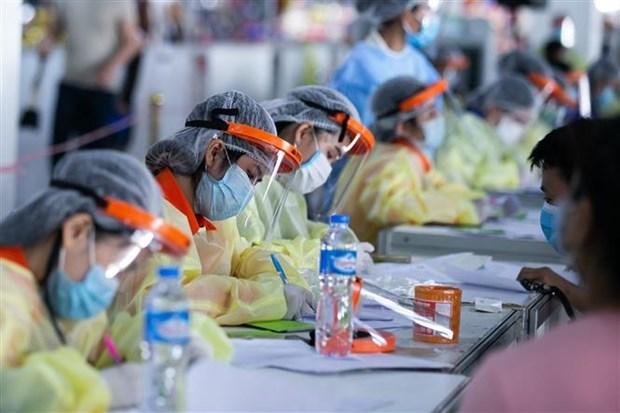 老挝新冠肺炎确诊病例数继续增加 hinh anh 1