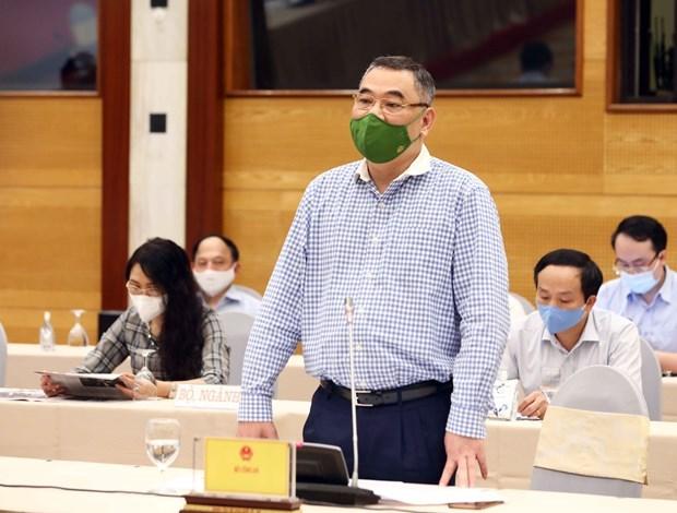 8月份政府例行记者会:公安、军队有必要参加疫情防控工作 hinh anh 1