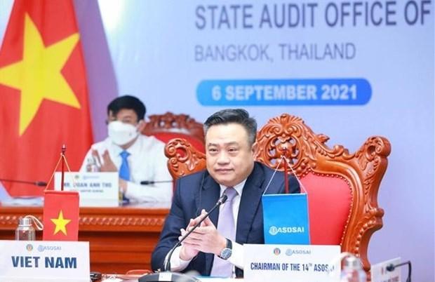 亚洲审计组织理事会召开第56次会议 hinh anh 1