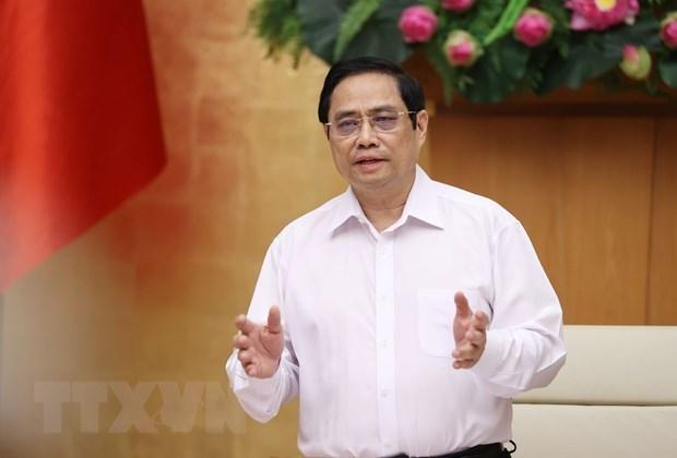 越南政府总理范明政:认真、科学研究 安全适应新冠肺炎疫情 hinh anh 1