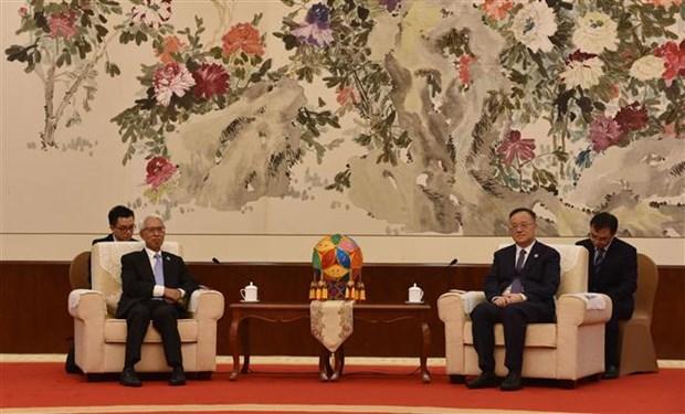 中国广西壮族自治区向越南捐赠80万剂新冠疫苗 hinh anh 2