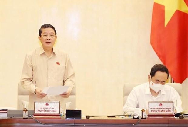 国会常务委员会第三次会议: 提高审计质量 加强财务纪律 hinh anh 1
