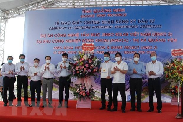 广宁省决定为3.65亿美元的项目颁发投资注册决定 hinh anh 1